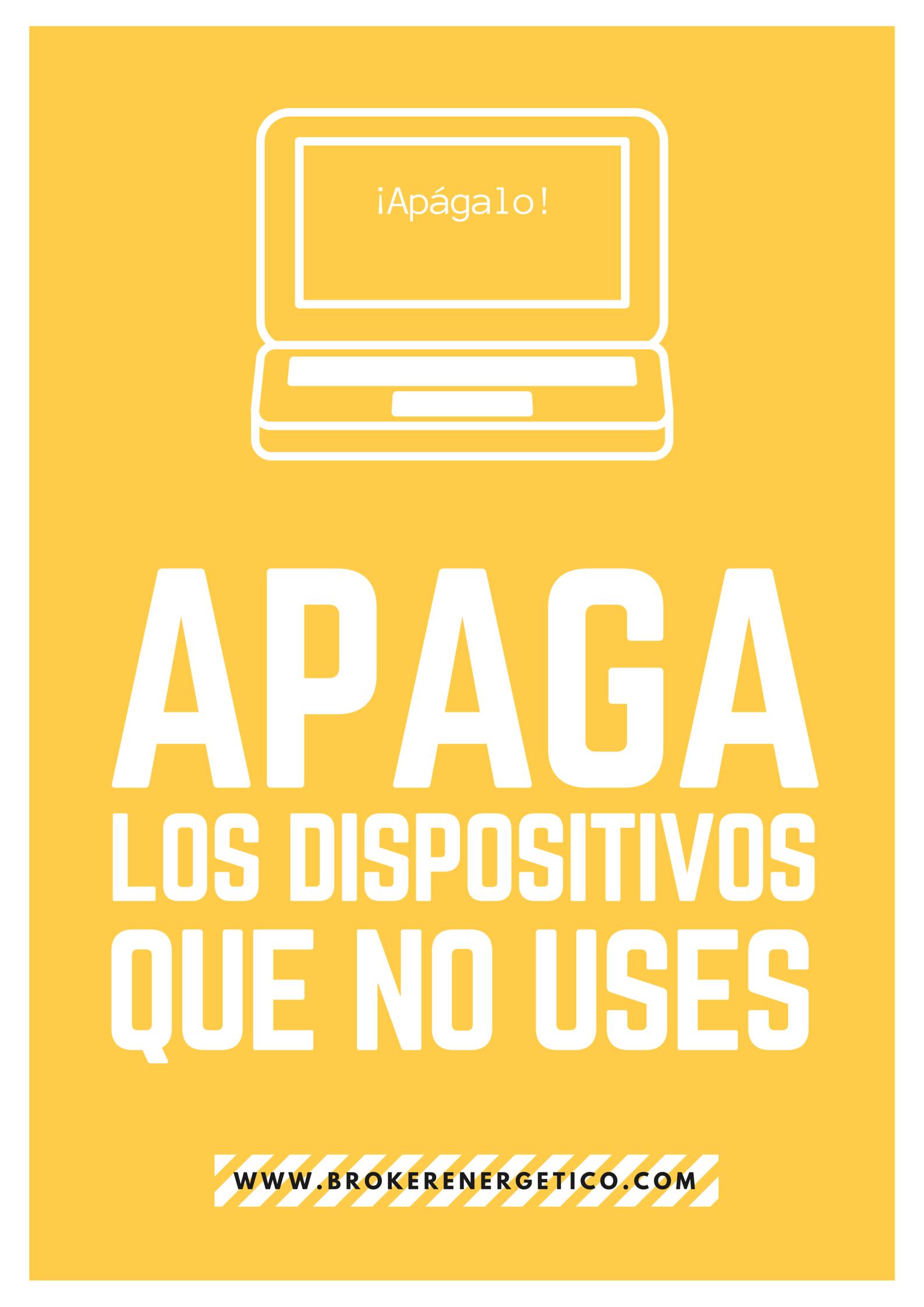 apaga los dispositivos que no uses